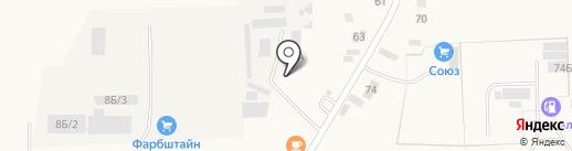 Шиномонтажная мастерская на карте Преображенки