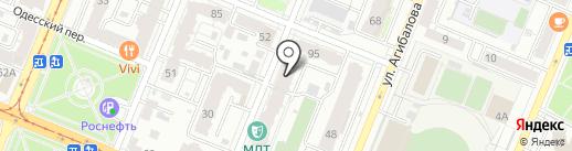 Территория детства на карте Самары