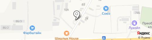 АГЗС на карте Преображенки
