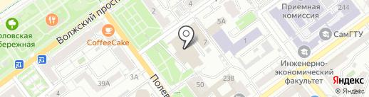Информационный центр на карте Самары