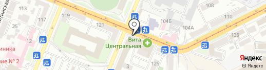 Салон-мастерская на карте Самары