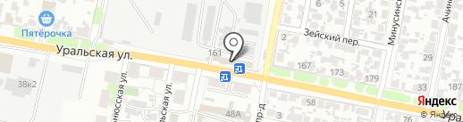 Шарм на карте Самары