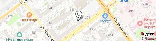 Никан на карте Самары