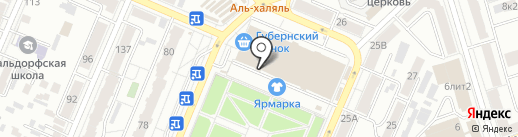 O`key на карте Самары