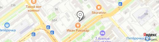 Отдел государственной статистики Красноглинского района на карте Самары