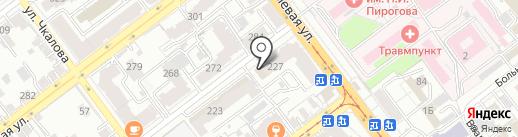 Молот.ок на карте Самары