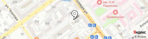 Шел на карте Самары