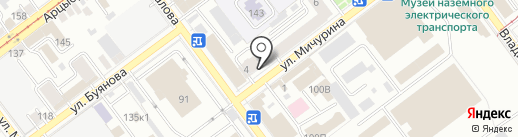 Медицинский центр на карте Самары