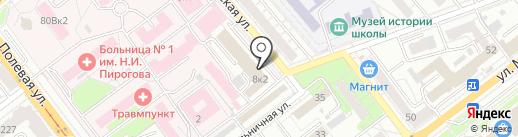 Ландыш Серебристый на карте Самары