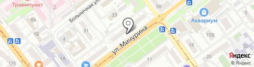 Анекс Тур на карте Самары