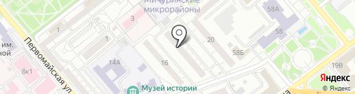 Репетитор на карте Самары