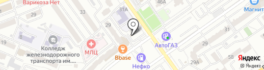Автокрепеж на карте Самары