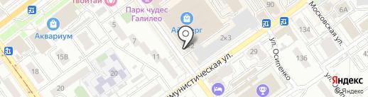 ГИПРОСВЯЗЬ на карте Самары