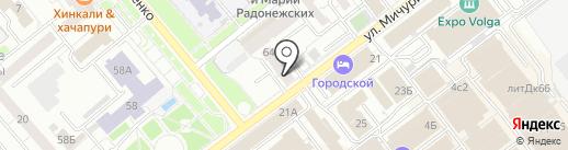 Юрисконсульт на карте Самары