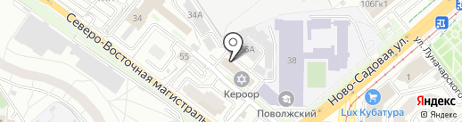 LeVit на карте Самары