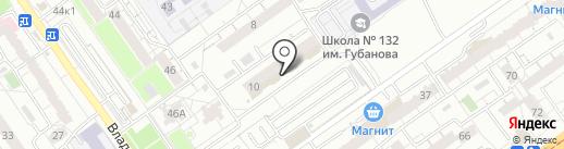 Мириданс на карте Самары
