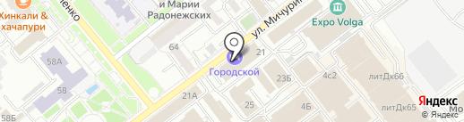 УправДом на карте Самары