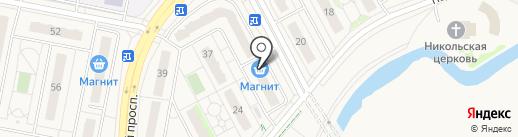 Магнит на карте Придорожного