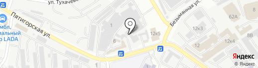 Gustov garage на карте Самары