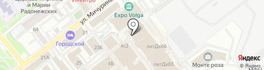 Клиника доктора Атрощенко на карте Самары