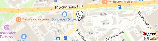 Anastasia LEONTEVA make up & brow studio на карте Самары