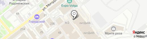 Кофейня на карте Самары