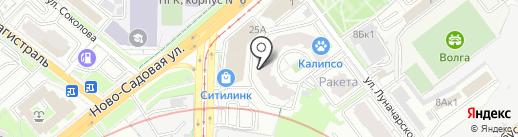 Винсент на карте Самары