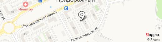 Fores на карте Придорожного