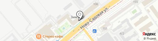 Бизнес-Актив на карте Самары
