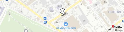 Электро-Актив на карте Самары