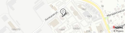 ДОМ на карте Самары