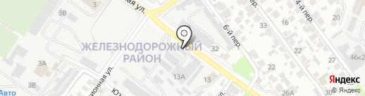 Автомойка на карте Самары