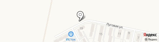 Автостоянка на карте Придорожного