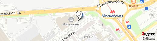 Банкомат, АБ Россия на карте Самары