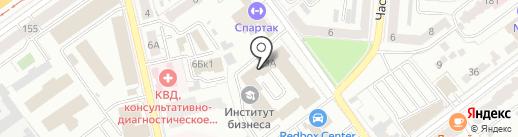 Лед-завод на карте Самары