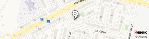 Модный город на карте Придорожного