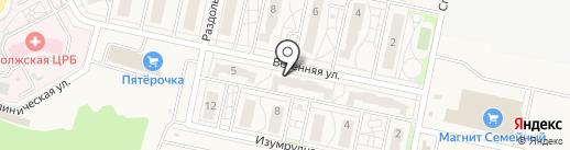 Магазин автозапчастей на карте Придорожного