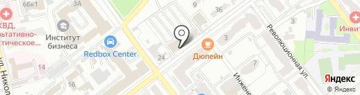Прок на карте Самары