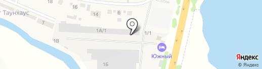 Киоск фастфудной продукции на карте Лопатино