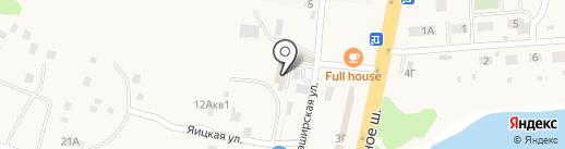 Магазин дверей и ламината на карте Лопатино