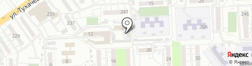 БЛЕСК на карте Самары