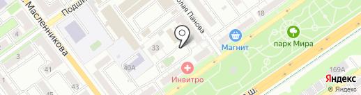 ЭЛЕКТРОТРАНССЕРВИС на карте Самары