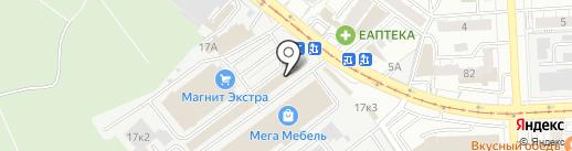 Хоум Лэнд на карте Самары