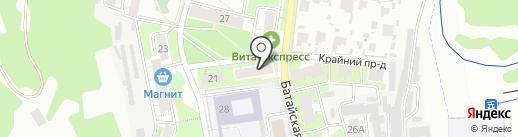 Русский Лён на карте Самары