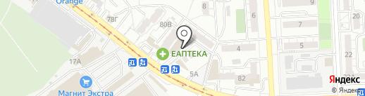 Торгово-офисный центр на карте Самары