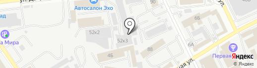 Два Мира на карте Самары