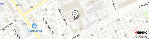 Сервис Цвета на карте Самары