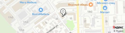 Tell-media на карте Самары