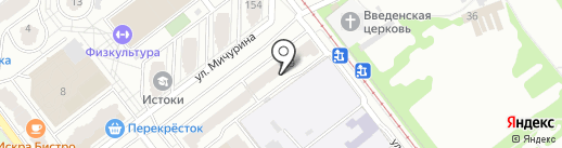 Метр квадратный на карте Самары