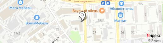 ОМЕГА на карте Самары